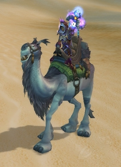 MOUNT Driving Camel White (White Riding Camel)