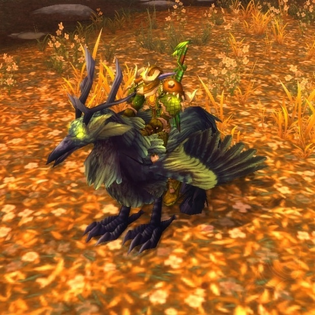 MOUNT Corrupted Hippogryph (Corrupted Hippogryph)