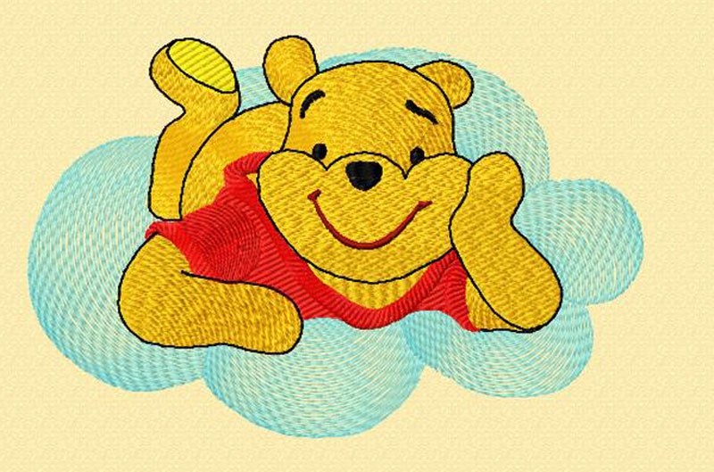 "Embroidery Design ""Pooh_2F"""