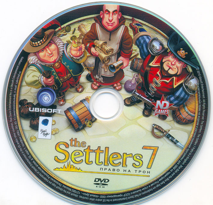 The Settlers 7. The right to the throne (Scan / worldwide)