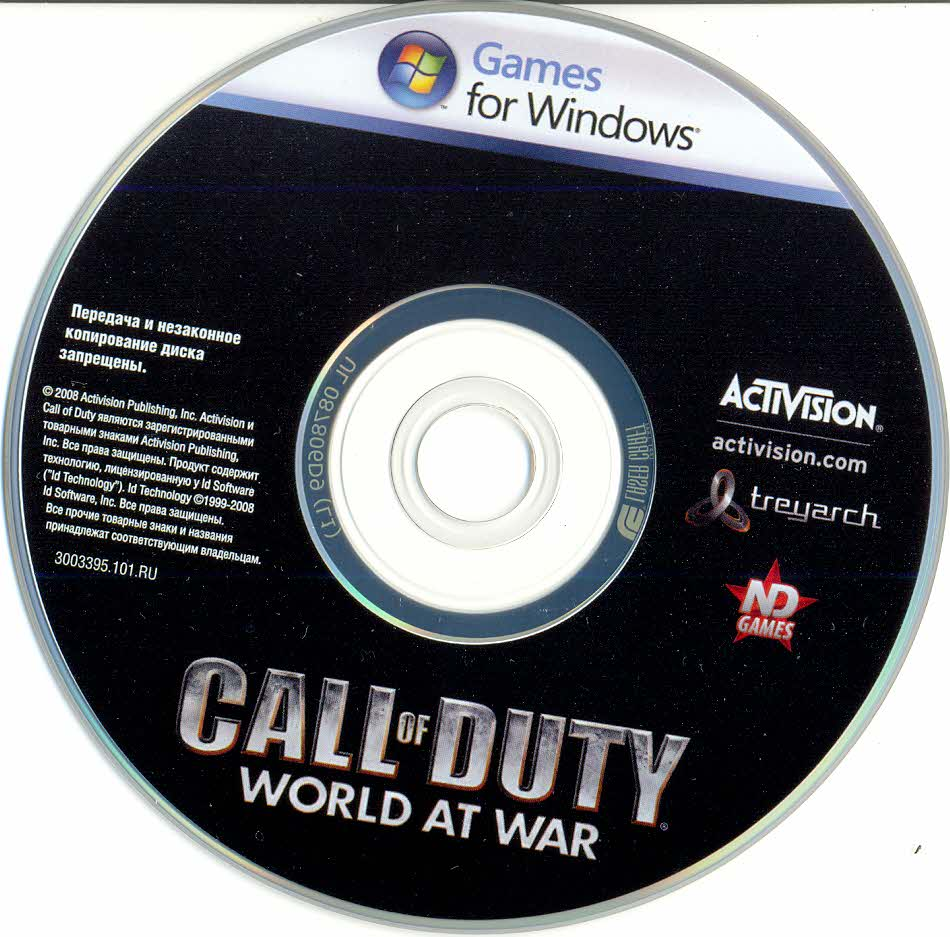 Call of Duty 5: World at War (ND-Games / Scan / WorldWide)