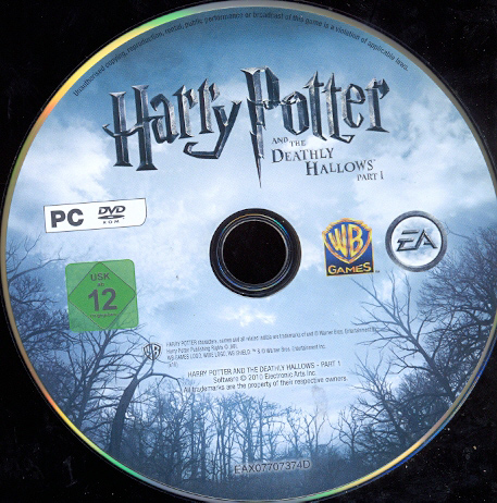 Harry Potter and the Deathly Hallows. Part One (EA / Scan)