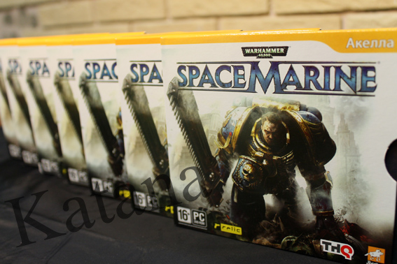 Warhammer 40.000: Space Marine (Steam/Scan) Region Free