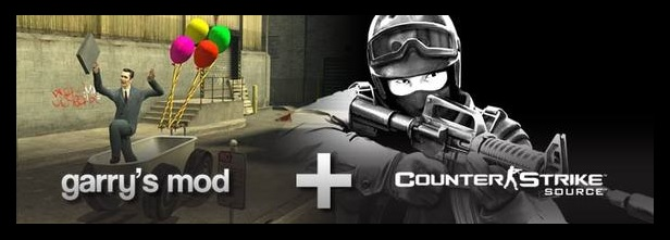 Counter-Strike: Source+Garry´s Mod (Gift on Steam)