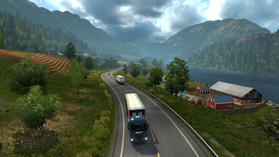 Euro Truck Simulator 2 - Scandinavia DLC (Steam/RU/CIS)