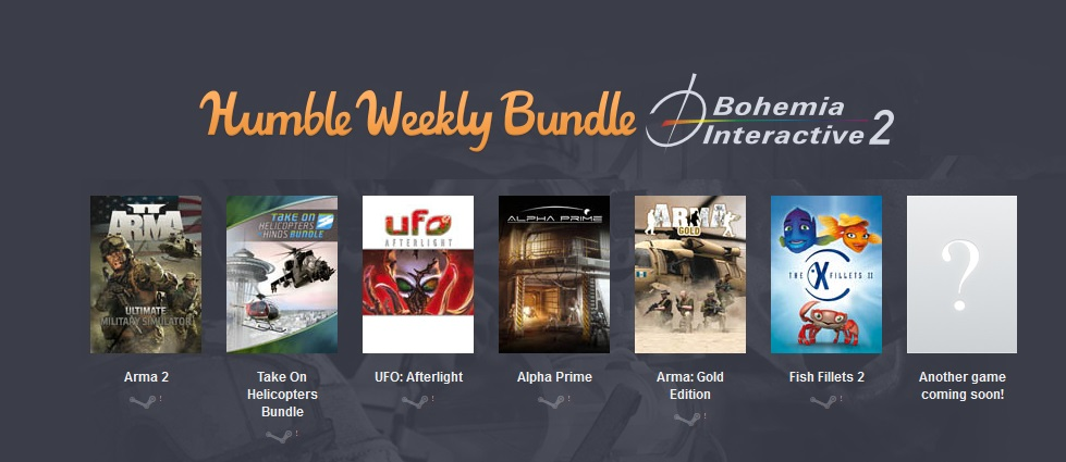 Humble Weekly Bundle: Bohemia Interactive 2 (6 steam)