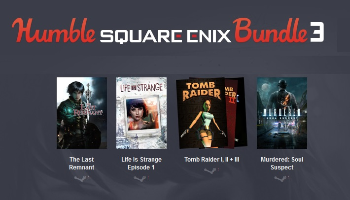 Humble Square Enix Bundle 3 (6 Steam)