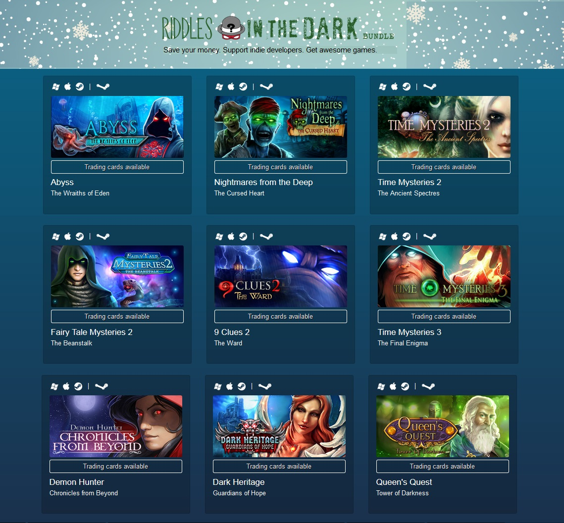 Indie Gala Riddles In The Dark (9 steam) Region Free