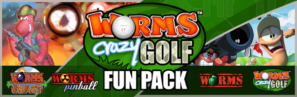 Worms Crazy Golf Fun Pack (Steam игры)