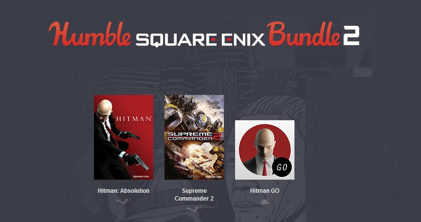 Humble Square Enix Bundle 2  ( 2 steam игры)
