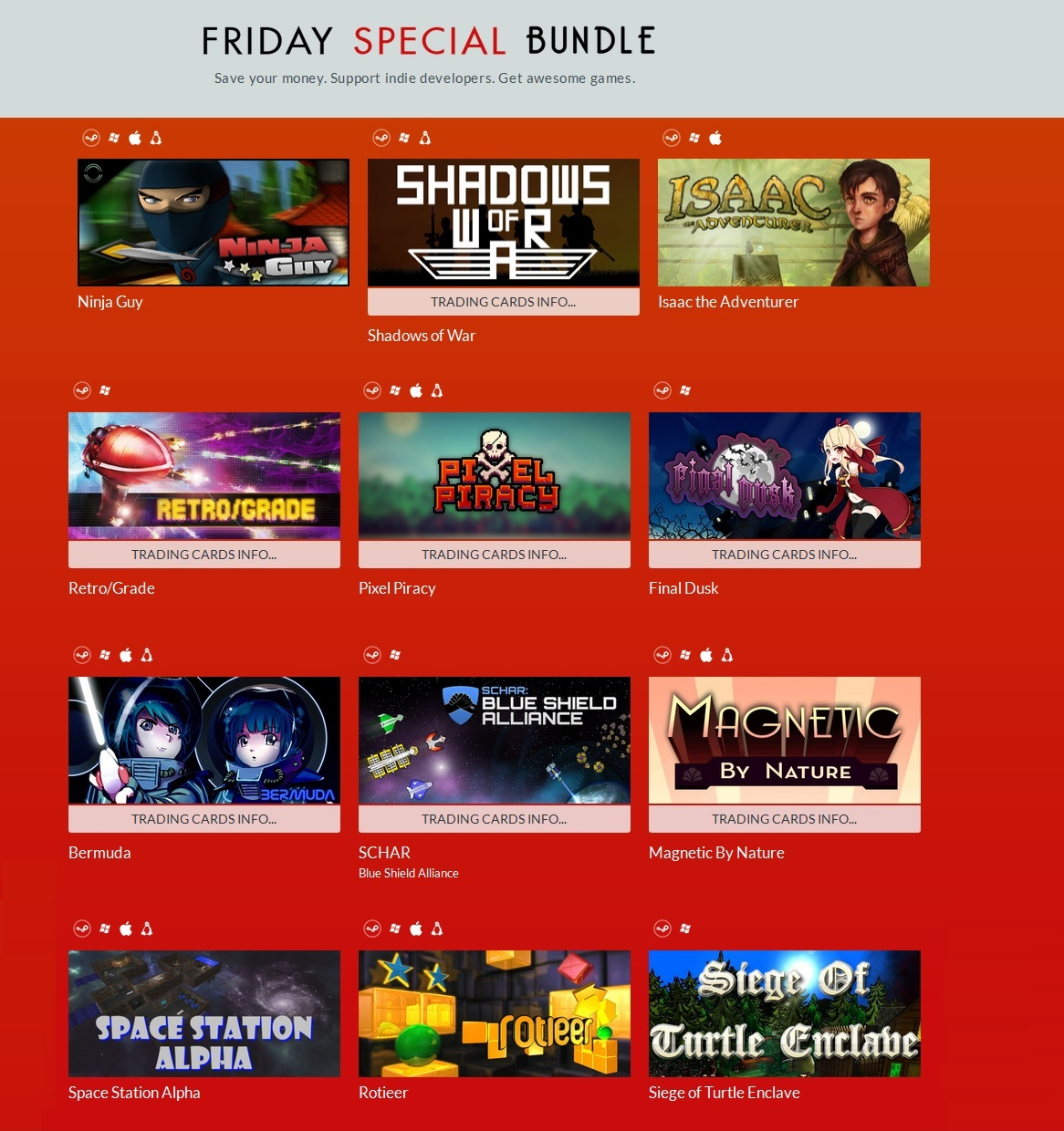 zIndie Gala Bundle Friday Special 15 (12 Steam игр)