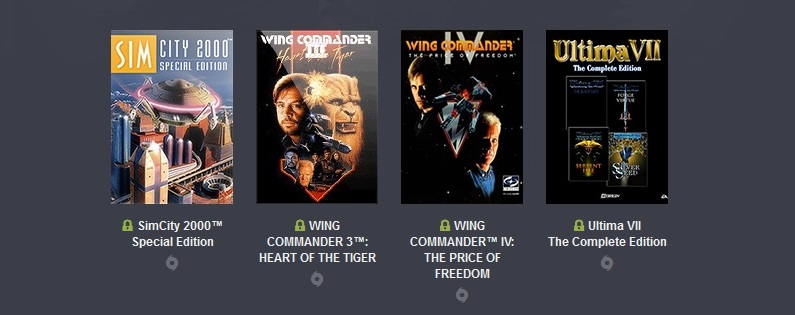 Origin Bundle 4 игры (Wing Commander 3,IV, SimCity )