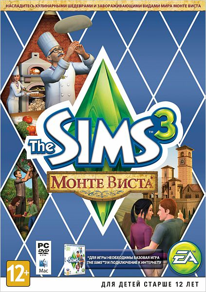 The Sims 3 Monte Vista DLC Reg. Free Origin KEY