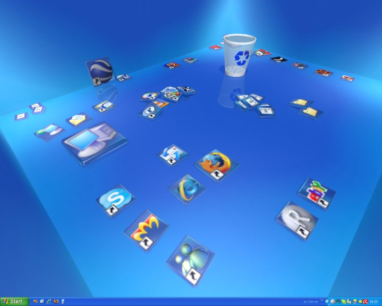 Changes to the 3D desktop