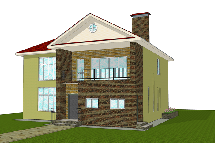 Detailed Design PD-171.2 individual house