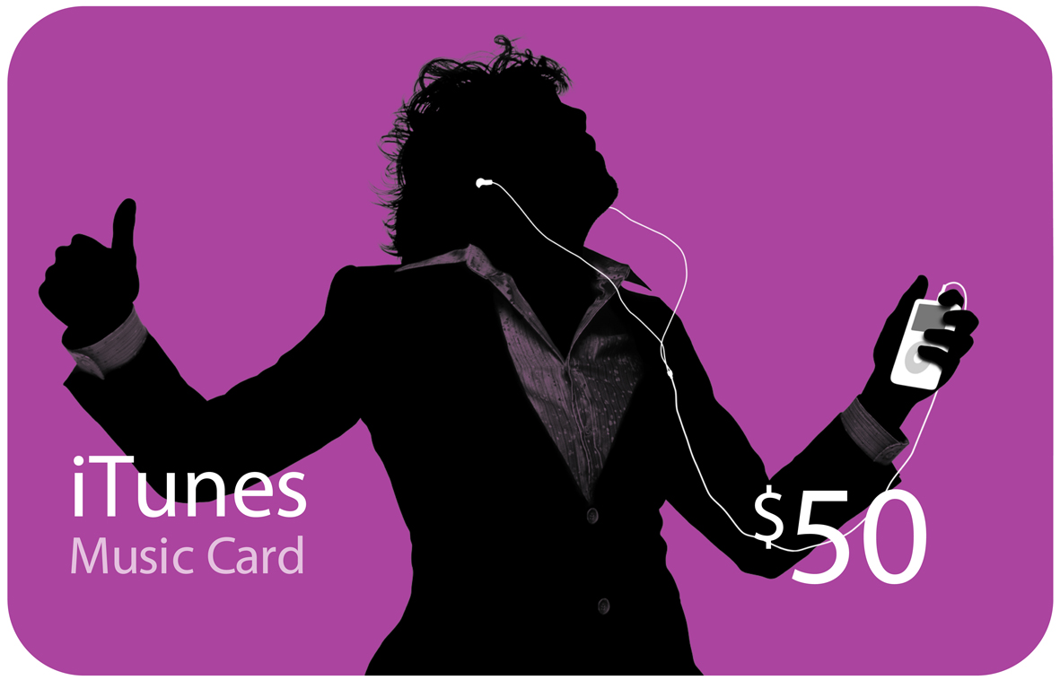 iTunes GIFT CARD - 50$. XX CODE