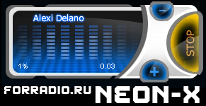 "Flash Player ""NeON_x"" for streaming Internet radio"