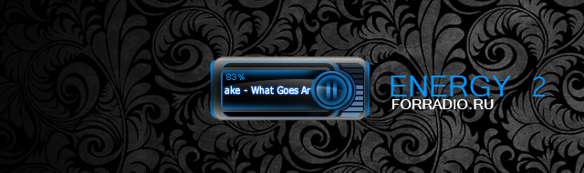 ENERGY2 flash player for streaming Internet radio