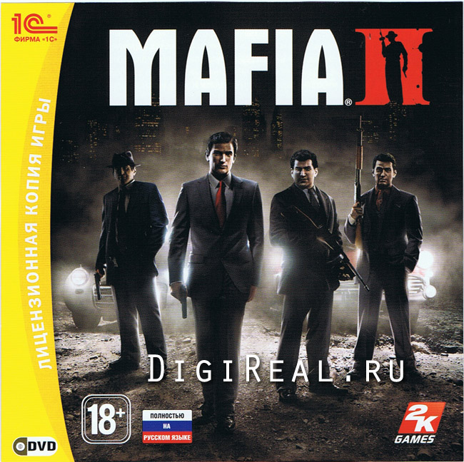 MAFIA 2. For Steam. Scan from 1C. Collector's Edition.