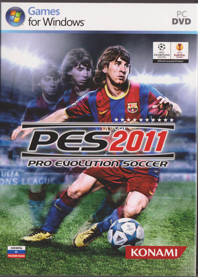 Pro Evolution Soccer 2011 - Scan from 1C. Region Free