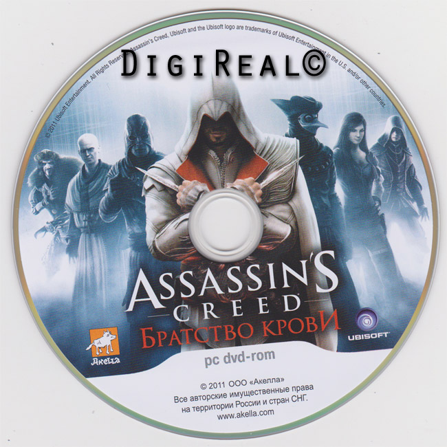 Assassin's Creed: Brotherhood of Blood (Region Free) + DLC
