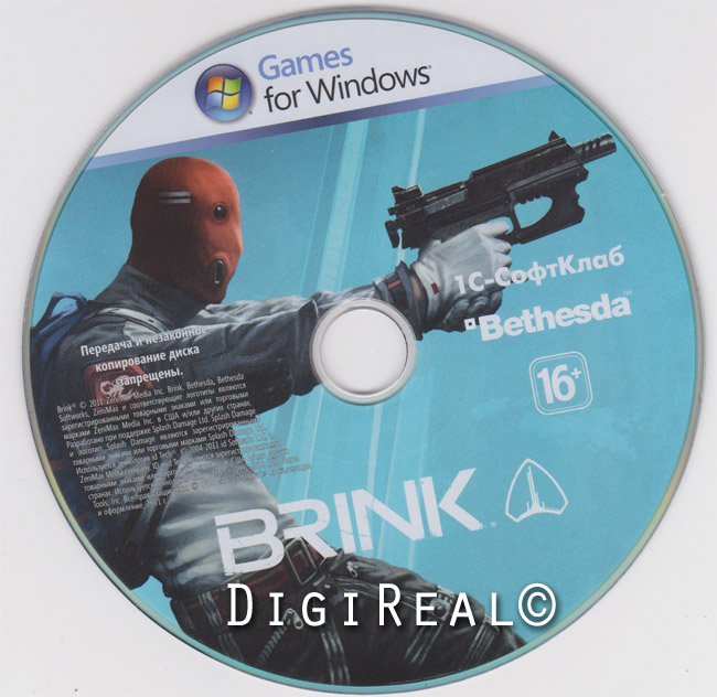 Brink - Steam key from 1C. Scan