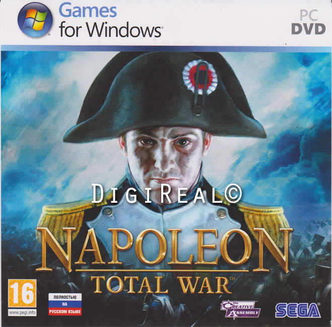 Napoleon: Total War. Scan from 1C.