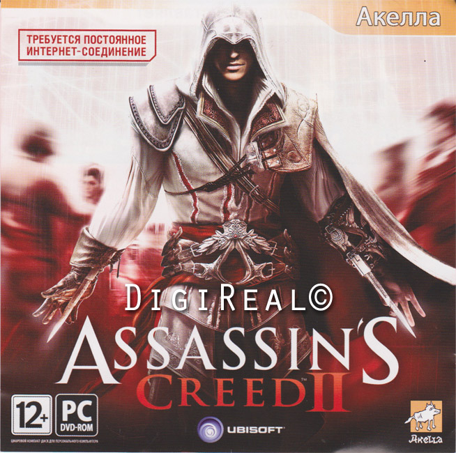 ASSASSINS CREED 2 (Скан от Акеллы/Region Free)