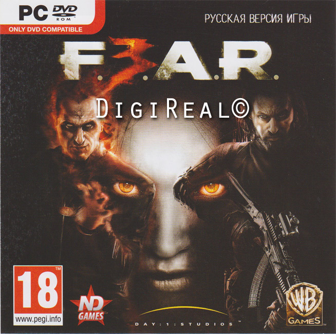 FEAR 3. Steam. Region Free. The key to the new disk.