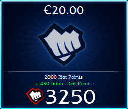 League of Legends (EU) - Riot Points