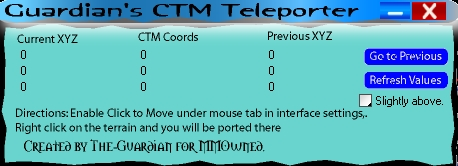 CTM Teleport v1.5 (3.3.2) (This is not just teleport)