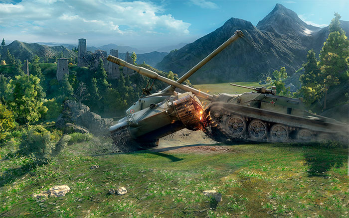 Online payment World of Tanks (min. 100 Gold)