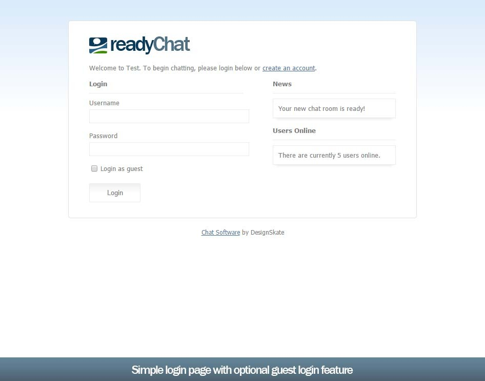 Чат-комната на php/ajax - readyChat 2.2.0