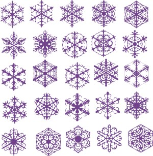 Cnezhinki, patterns vector