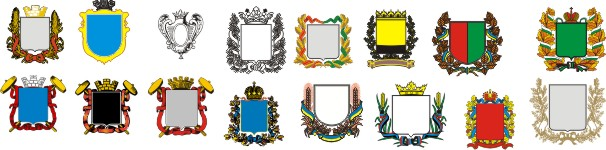 Preparations for the coat of arms - templates for creating your coat