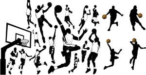 Sports in icons (icons), vector