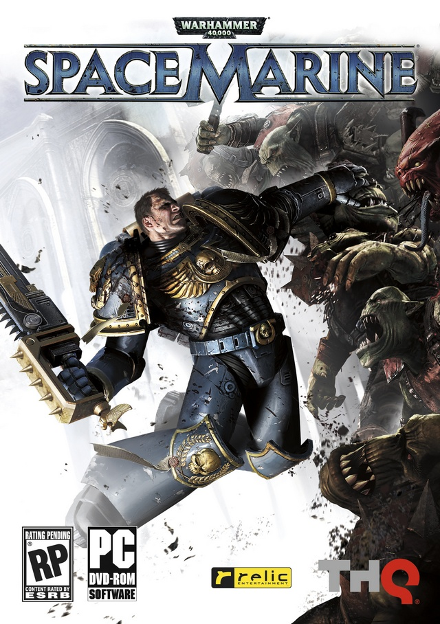 Warhammer 40000: Space Marine (Steam/Скан)