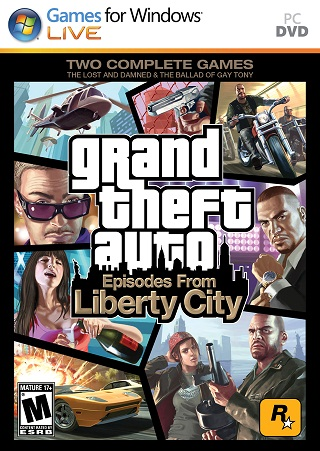 GTA Episodes from Liberty City Activation Code (Euro / 1C)