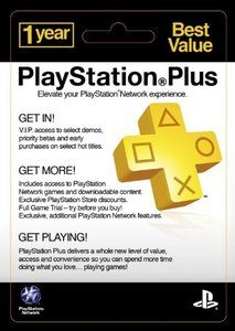 Playstation PLUS - 12 months (USA) - (SCAN)
