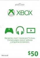 Xbox Gift Card 50$ US - Scan , Скан