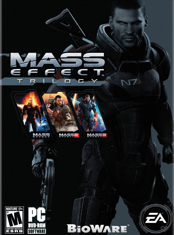 Mass Effect Trilogy Трилогия (EU/Multilang) + СКИДКИ