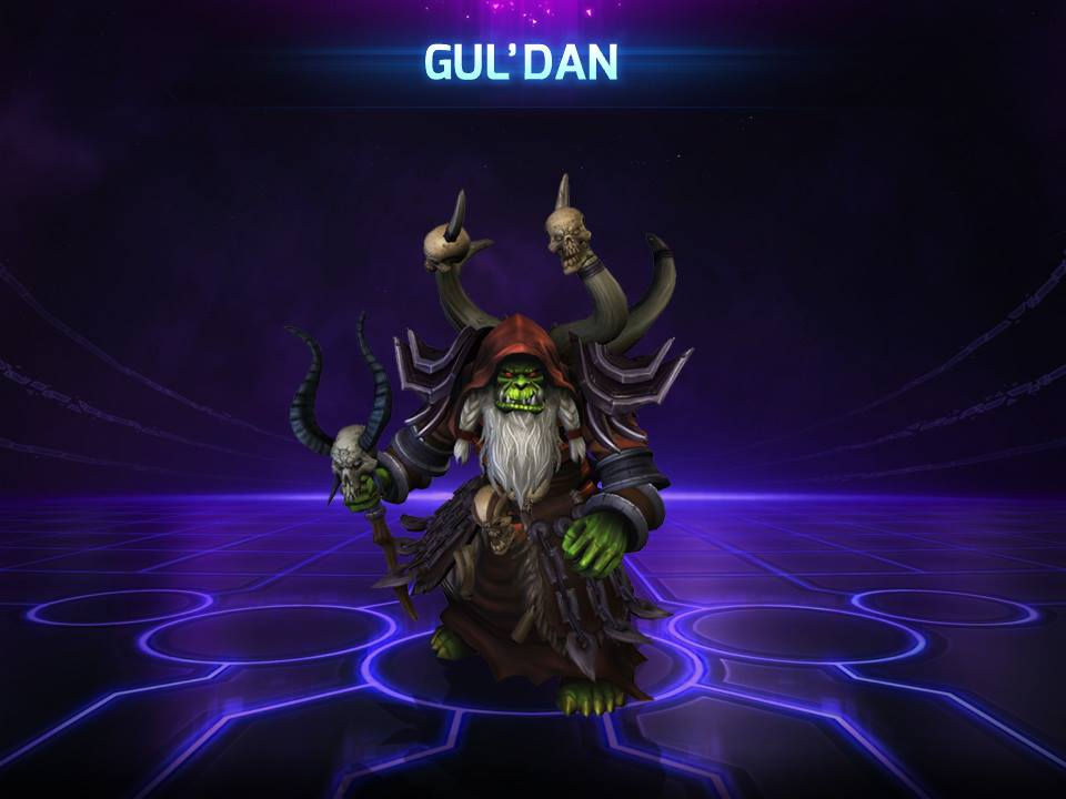 Gul´dan Heroes of the Storm Hero Region Free