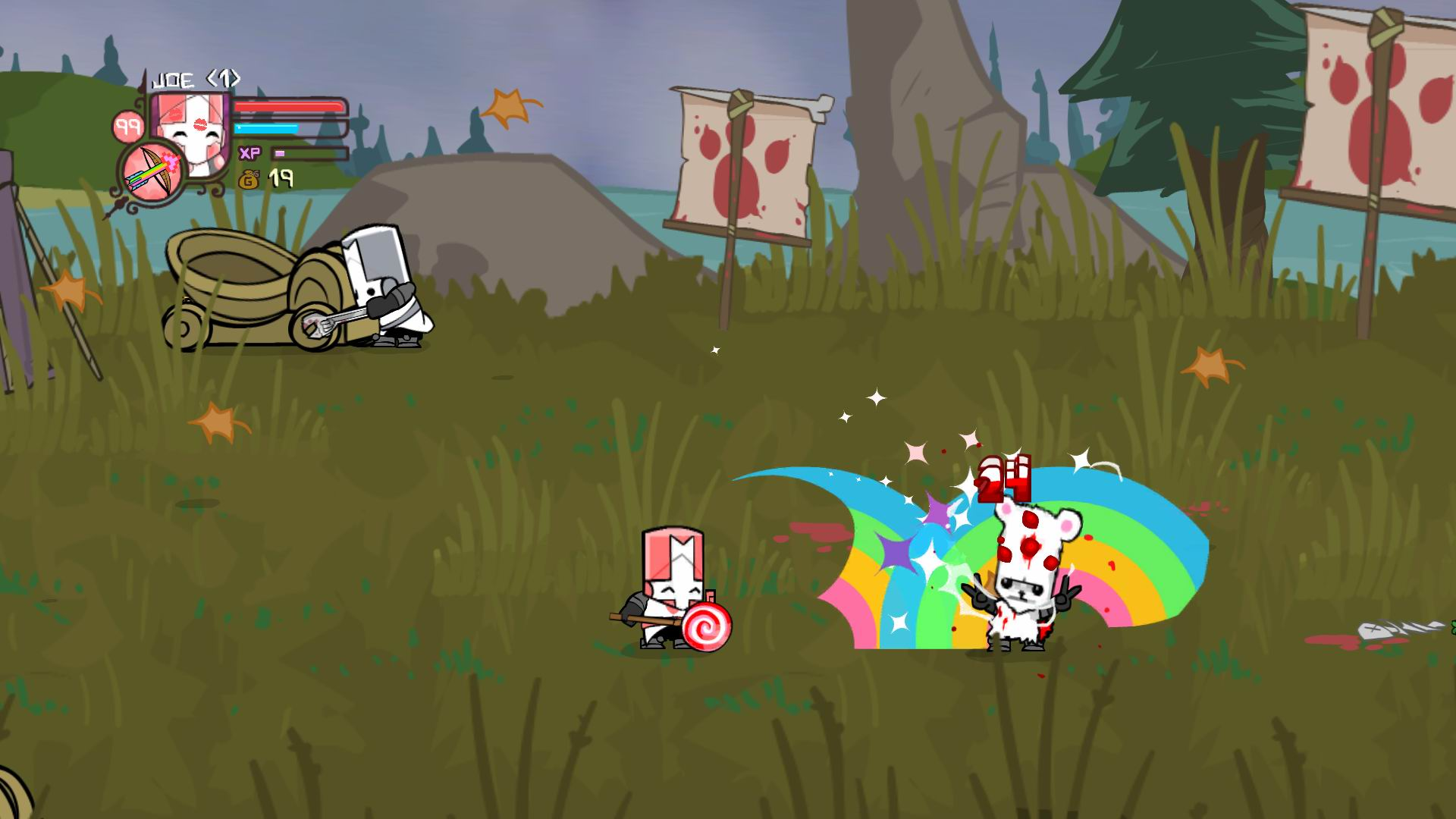 Castle Crashers (Steam Gift / Region FREE) - DISCOUNTS