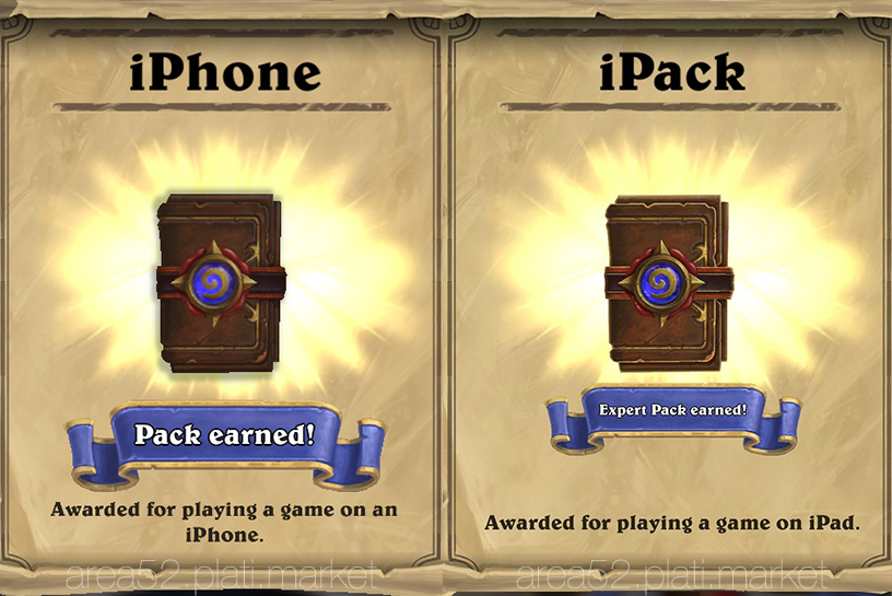 2 Hearthstone Expert Packs [iPhone + iPad]