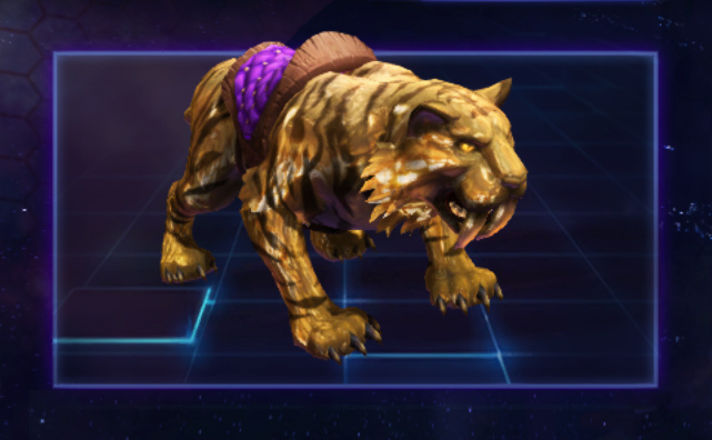 Golden Tiger | Heroes of the Storm