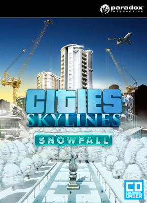 Cities: Skylines DLC Snowfall (Steam KEY) + GIFT