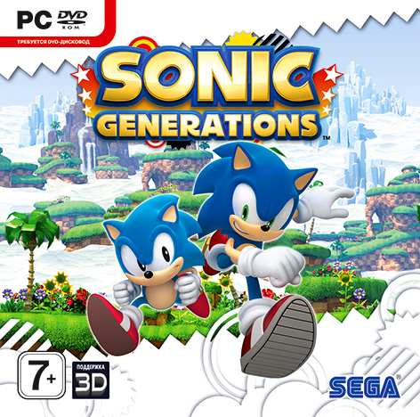 Sonic Generations (Steam KEY) + ПОДАРОК