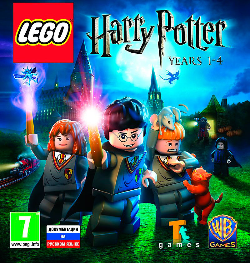 LEGO Harry Potter: Years 1-4 (Steam KEY) + GIFT