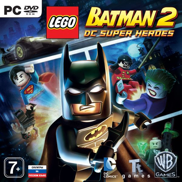 LEGO Batman Trilogy 3v1 (Steam KEY) + ПОДАРОК