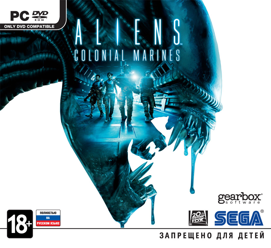 "Aliens: Colonial Marines DLC card set ""The film"""